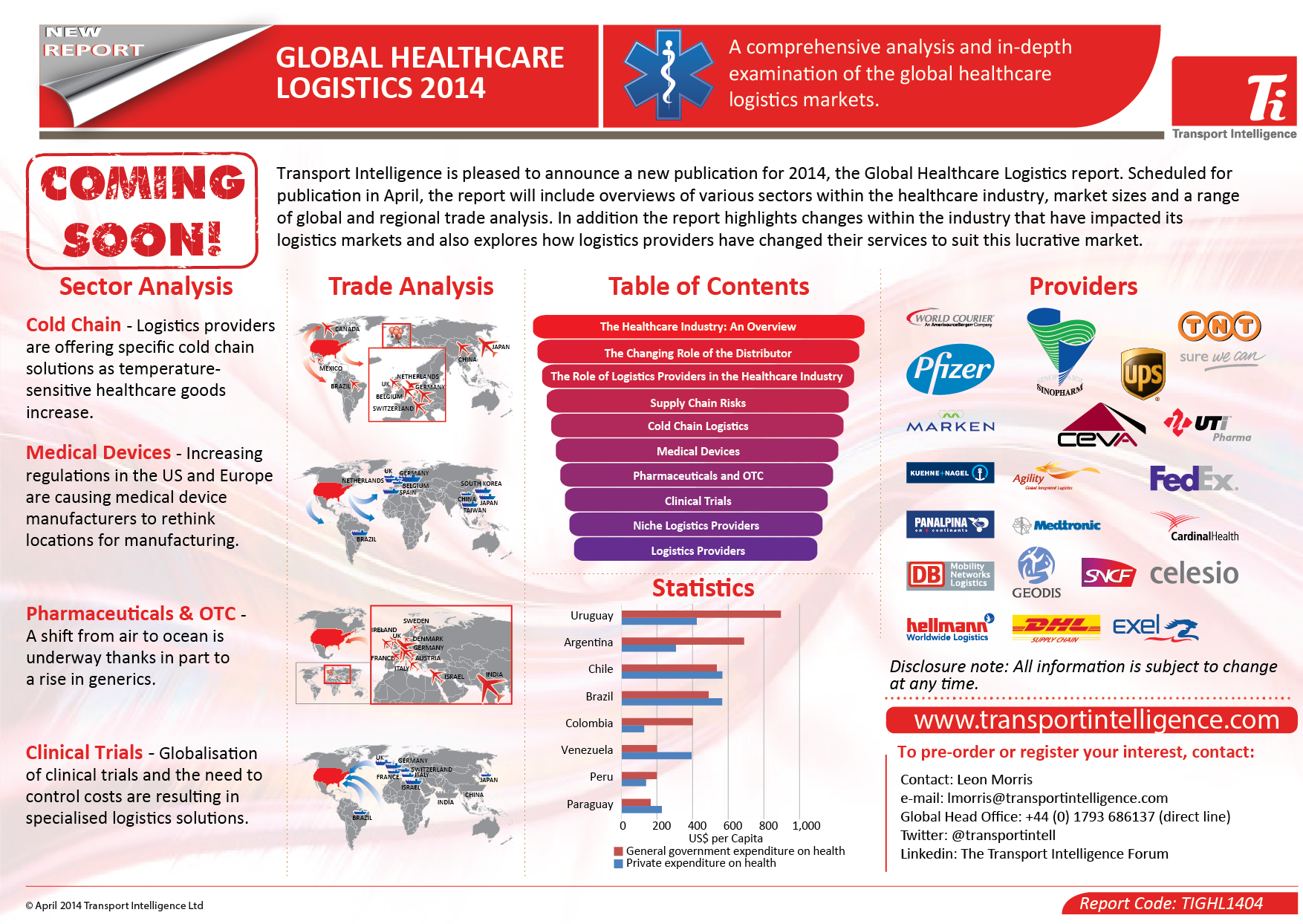 global healthcare logistics market 2014 2018 The growing consolidation in the global healthcare logistics market will be one of the major trends in the global cold chain logistics market for the pharmaceuticals industry during 2018-2022 the.
