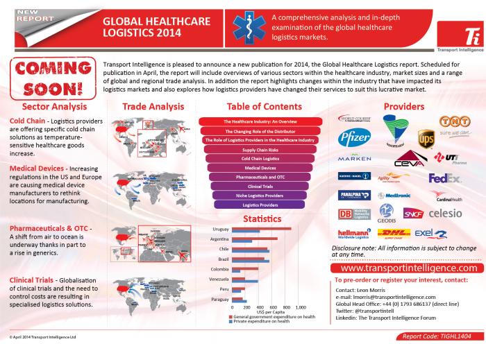 Global Healthcare Logistics 2014